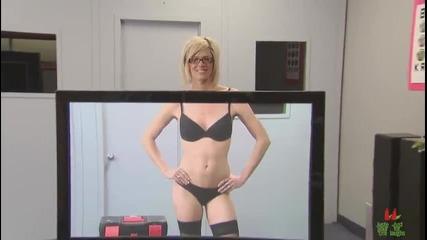 Ей това е Плазмен Телевизор (смях)