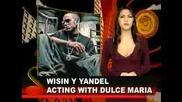 Wisin y Yandel con Dulce Maria