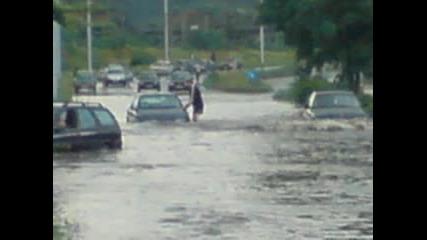 Сливен след дъжд