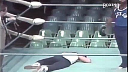Роки - кадри зад сцената от тренировките на ринга