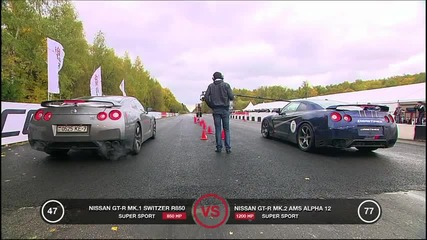 Nissan Gt-r Ams Alpha 12 — 347 km_h on one mile