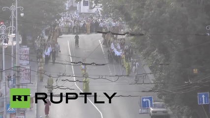 Russia: Sevastopol marks repose of St. Vladimir with procession