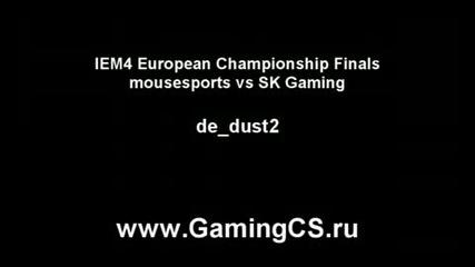 Nice Trick vs Sk-gaming at Extreme Masters 4