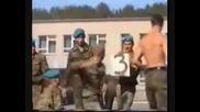 Тренировка на Руските Спецназ Гру