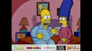 The Simpsons - No Room In My Brain! bg subs