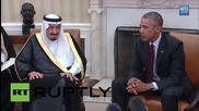 USA: Obama and Saudi King Salman hold joint presser ahead of meeting