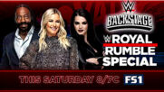 WWE Backstage returns with Royal Rumble special this Saturday