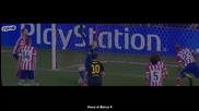 Най-доброто от Неймар срещу Атлетико Мадрид (09.04.2014)