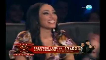 Ангел и Моисей - Черно море X- Factor .. 29.11.2011