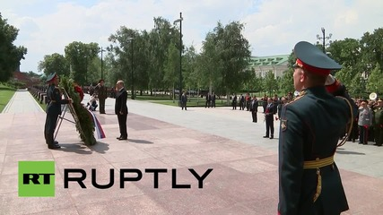 Russia: Putin commemorates 75th anniversary since the start of WWII