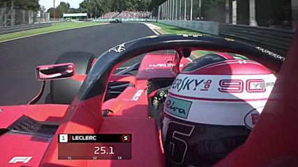 Ф1 - Шарл Льоклер спечели квалификацията за Гп на Италия