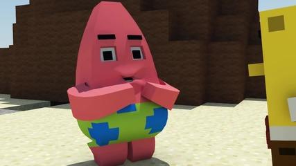 Spongebob in Minecraft - Animation
