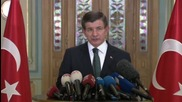 Turkey: PM Davutoglu accuses Russia of bombing schools and hospitals, not IS