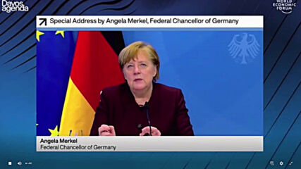 Germany: Merkel criticises China's lack of 'transparency' at start of pandemic in WEF address