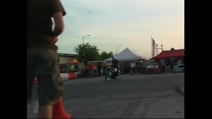 Christian Pfeiffer Extreme Moto Stunt Show Automotoshow Larisa