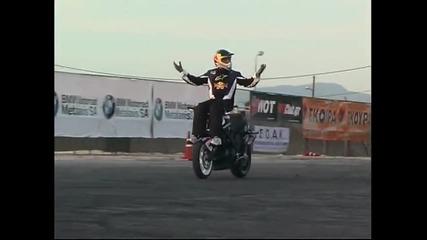 Extreme Moto Stunt Show Automotoshow Larisa