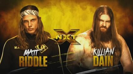 Matt Riddle and Killian Dain continue their war tonight on NXT