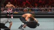Wwe Smackdown vs. Raw 2011-old Dx vs old Undertaker and old Kane