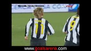 As Roma Vs. Juventus 1 - 4 P.nedved Гол 21.03.2009
