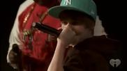 Justin Bieber & Sean Kingston - Eenie Meenie - live Джъстин Бийбър - Онче Бонче на живо Hq Justin !!