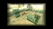 Counter - Strike - A Ninja defuse [de dust2] 1vs5
