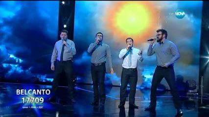 Belcanto - X Factor Live (03.11.2015)