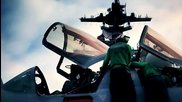 Невероятни Кадри на Самолетоносач и F-18 Super Hornet