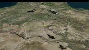 Руски бойни кораби атакуват с ракети цели в Сирия от Каспийско море