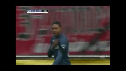 """""""Фейенорд"""" излезе трети в Холандия след успех с 3:0 като гост на """"НЕК Ниймеген"""""""