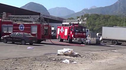 Нападение с ракети в Анталия