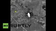 Сирия: Видео показва как руски самолети заличават цел