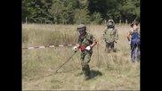 """Край на операция """" Горещо лято """" за прочистване от боеприпаси в Челопечене"""