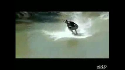 Яки Разбивания Със Водни Ски, Сърф И Други (яко Смех)