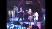 Андреа излезе с Costi i Lennox Brown на Сцената на Турнето в Русе 2009
