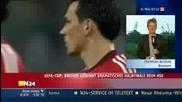 Uefa Cup 08/09 : Хамбургер - Вердер | голове + коментар и интервюта