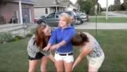 Hot Girl Fails Backflip