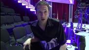 Dancing stars - Дарин отговоря на зрителски въпроси - 18.03.2014 г.