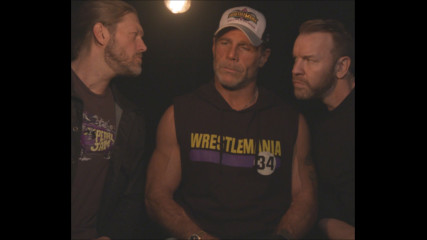 Edge & Christian want to know why HBK threw Marty Jannetty through The Barbershop window (WWE Network Exclusive)