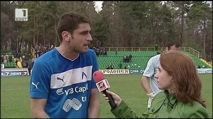 Намери се футболист на Левски с адекватно изказване