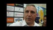 Стоичков избухва след загуба на Литекс от Локомотив София (глобен е 7000 лева)