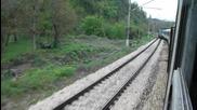 Така се получава когато пуснат два влака по грешните релси :d