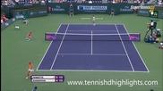 Flavia Pennetta vs Maria Sharapova - Indian Wells 2015