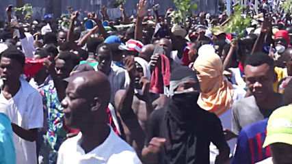 Haiti: Anti-government protests turn musical