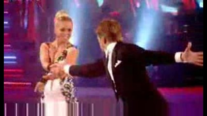 Andrew Castle and Ola Jordan - Strictly Come Dancing 2008 Round 3 - BBC One