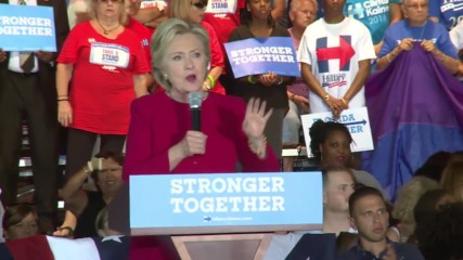 USA: 'This is serious' – Clinton hits Trump hard two weeks before election