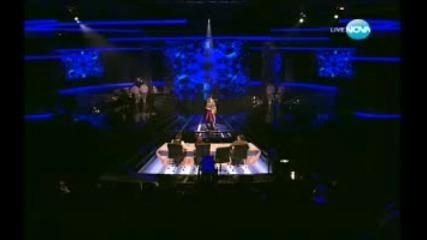 X Factor Bulgaria - Стела и Мария Илиева Сама и I like 08.11.2011