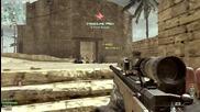 Call of Duty Mw3: 7 Man Sniper Feed!