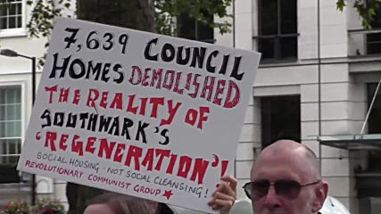 UK: 'Gotta get rid of the rich!' Housing activists disrupt London Real Estate Forum