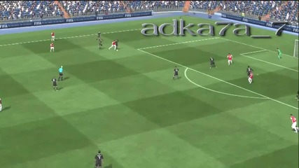 Fifa 11 Demo - Страхотен гол на Самир Насри