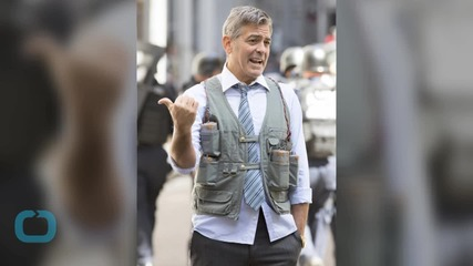 George Clooney Shocks New Yorkers With Suicide Vest